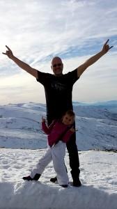 Lucia-Papa-nieve-saludo